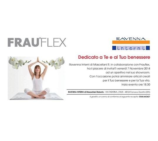 Evento Frauflex a Ravenna Interni