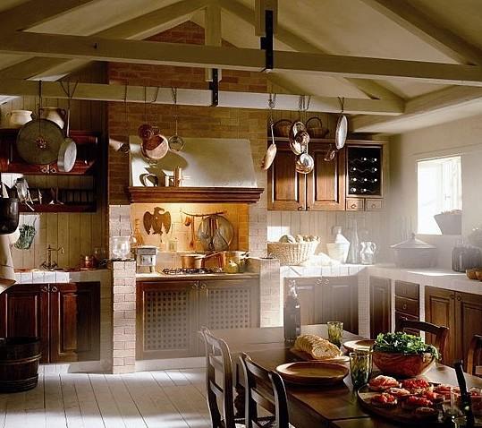 La cucina per Ravenna Interni